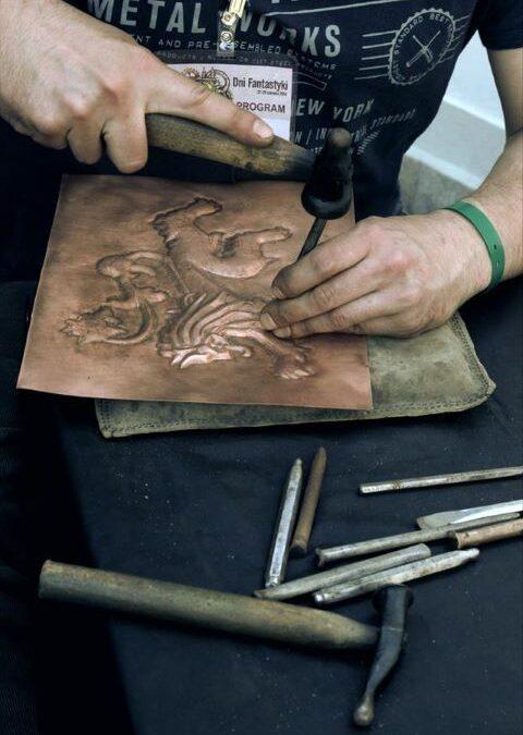 Pokaz i warsztaty repusowania – Rextorn Metalworks